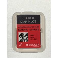 ®Mercedes Becker MAP PILOT térkép frissítés SD kártya 2021 Európa + Navigációs szoftver
