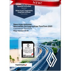 Renault Carminat TomTom© Európa SD kártya 2021/2022 + Szoftverfrissítés