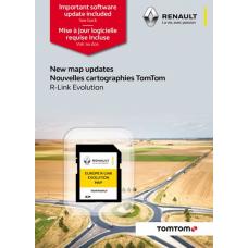 Renault TomTom© RLINK Európa 2021 SD kártya